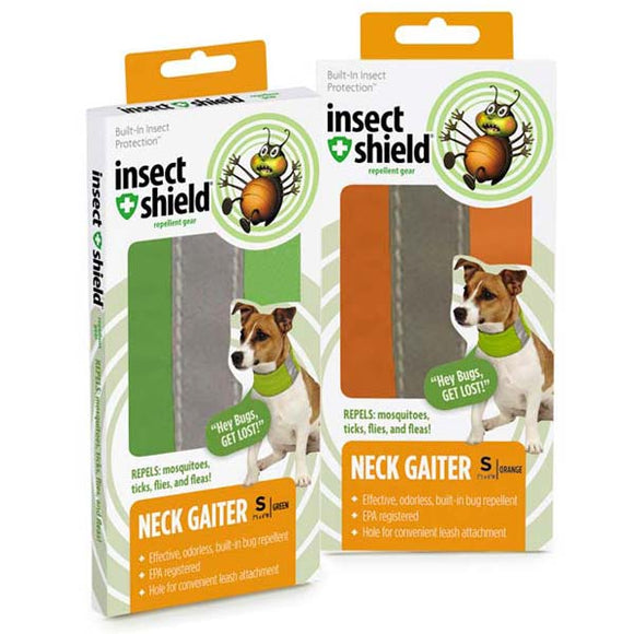 Insect Shield Neck Gaiters-Green