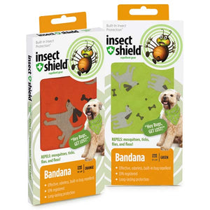 Insect Shield Dogs & Bones Bandanas