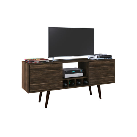 "Mueble Rack p/ TV 50"" Nogal R1461.0002 - Apartamento22"