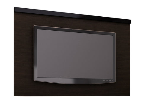 "Mueble Panel p/ TV 60"" Cafe/ Negro PA2906.0001 - Apartamento22"