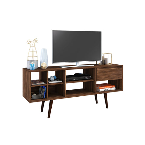 Mueble Rack p/ TV Nogal R1462.0002 - Apartamento22
