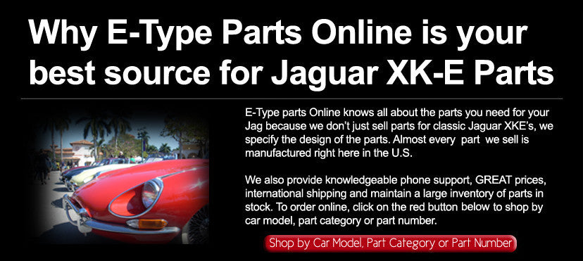 jaguar xk-e parts