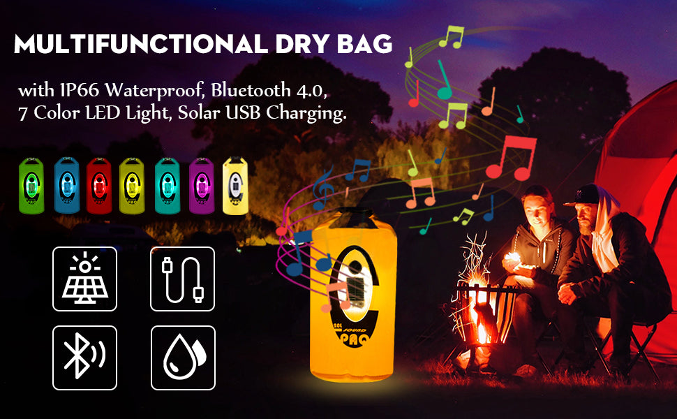 drybag 7 colors camping