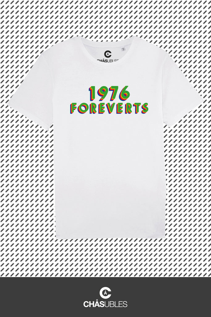 T-Shirt homme  « 1976 Foreverts » - CHASUBLES