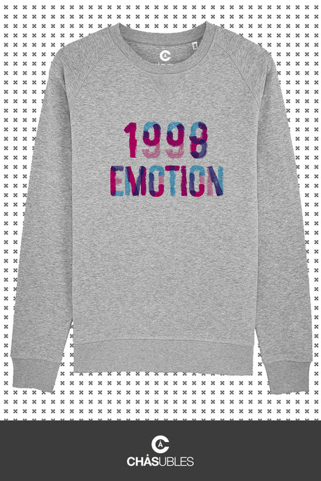 Sweat homme « 1998 émotion » - CHASUBLES