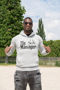 Hoodie  homme/femme « The Manager » - CHASUBLES