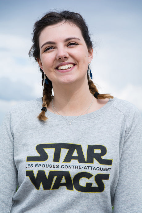 Sweat  femme « Star Wags » - CHASUBLES