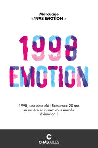T-Shirt homme « 1998 émotion » - CHASUBLES