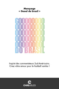 Sweat homme « Goool Do Brasil » - CHASUBLES