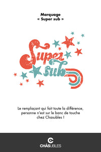 Sweat enfant « Super sub » - CHASUBLES