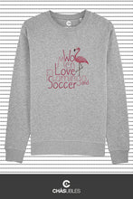 Charger l'image dans la galerie, Sweat homme « Women love flamingo » - CHASUBLES