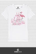 Charger l'image dans la galerie, T-Shirt enfant « Women love flamingo » - CHASUBLES
