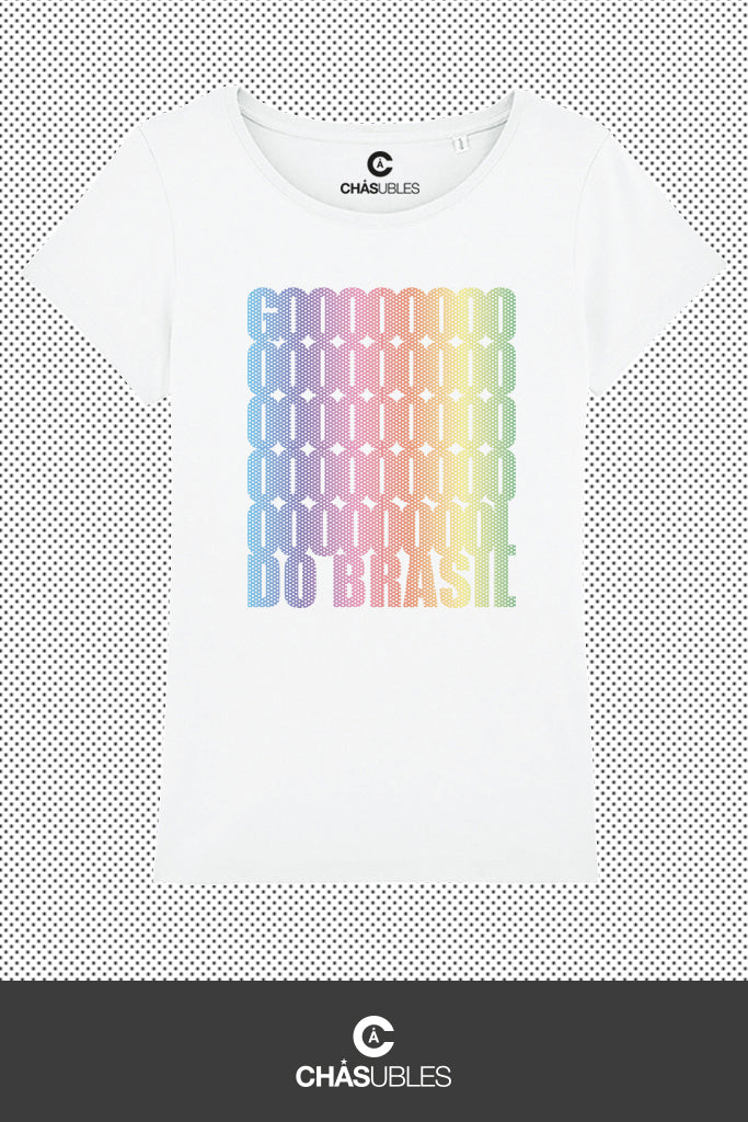T-Shirt femme « Goool Do Brasil » - CHASUBLES