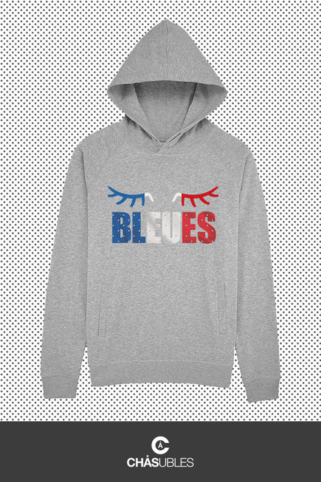 Hoodie femme/homme « Bleues » - CHASUBLES