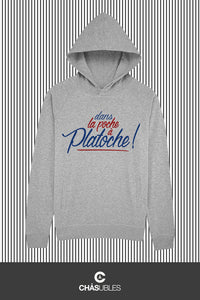 Hoodie  homme/femme « Platoche » - CHASUBLES