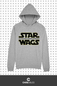 Hoodie  homme/femme « Star Wags » - CHASUBLES