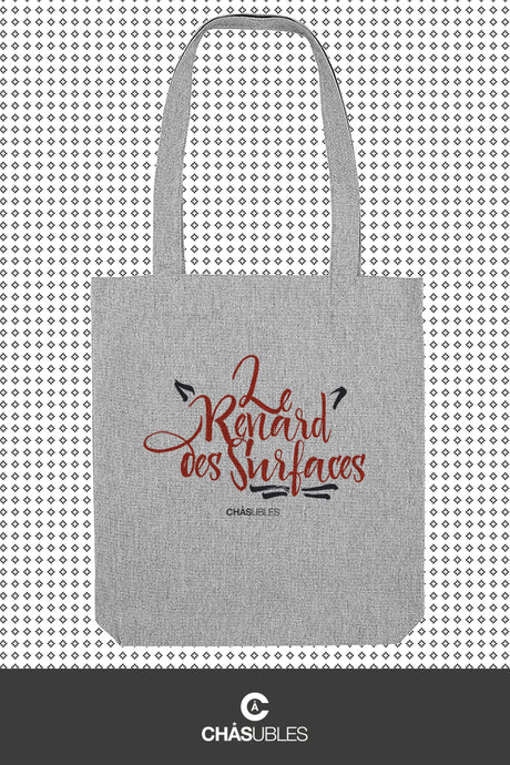 Tote bag « Le renard des surfaces » - CHASUBLES