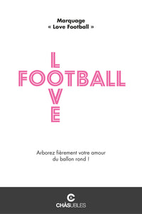 T-Shirt  femme « Love Football » - CHASUBLES