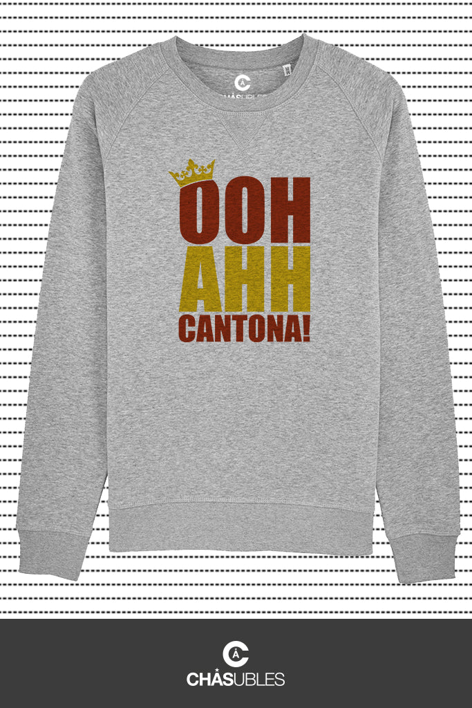 Sweat homme « OOH AHH Cantona ! » - CHASUBLES