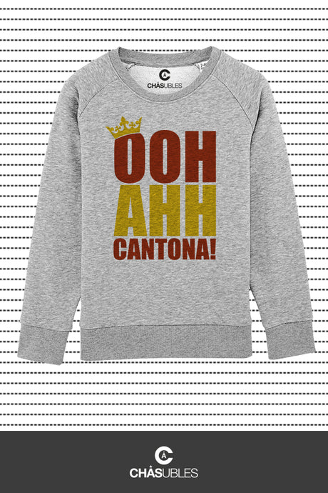 Sweat enfant « OOH AHH Cantona ! » - CHASUBLES