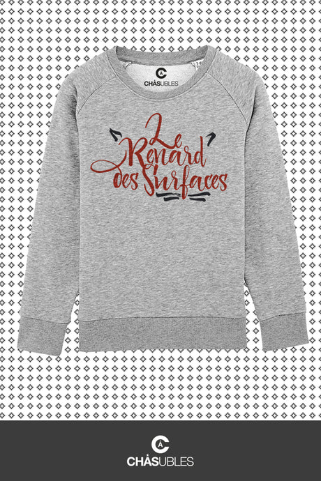 Sweat enfant « Le renard des surfaces » - CHASUBLES