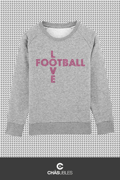 Sweat enfant « Love Football » - CHASUBLES