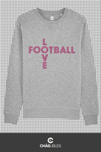 Charger l'image dans la galerie, Sweat  homme « Love Football » - CHASUBLES