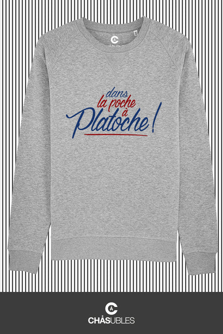 Sweat  homme « Platoche » - CHASUBLES