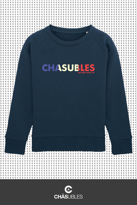 Sweat enfant « Bleu, Blanc, Rouge » - CHASUBLES