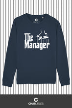 Charger l'image dans la galerie, Sweat  femme « The Manager » (blanc) - CHASUBLES
