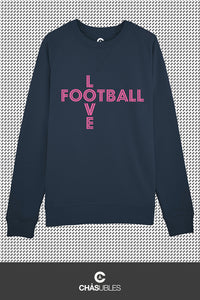 Sweat  homme « Love Football » - CHASUBLES