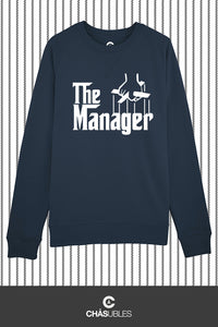 Sweat  homme « The Manager » (blanc) - CHASUBLES