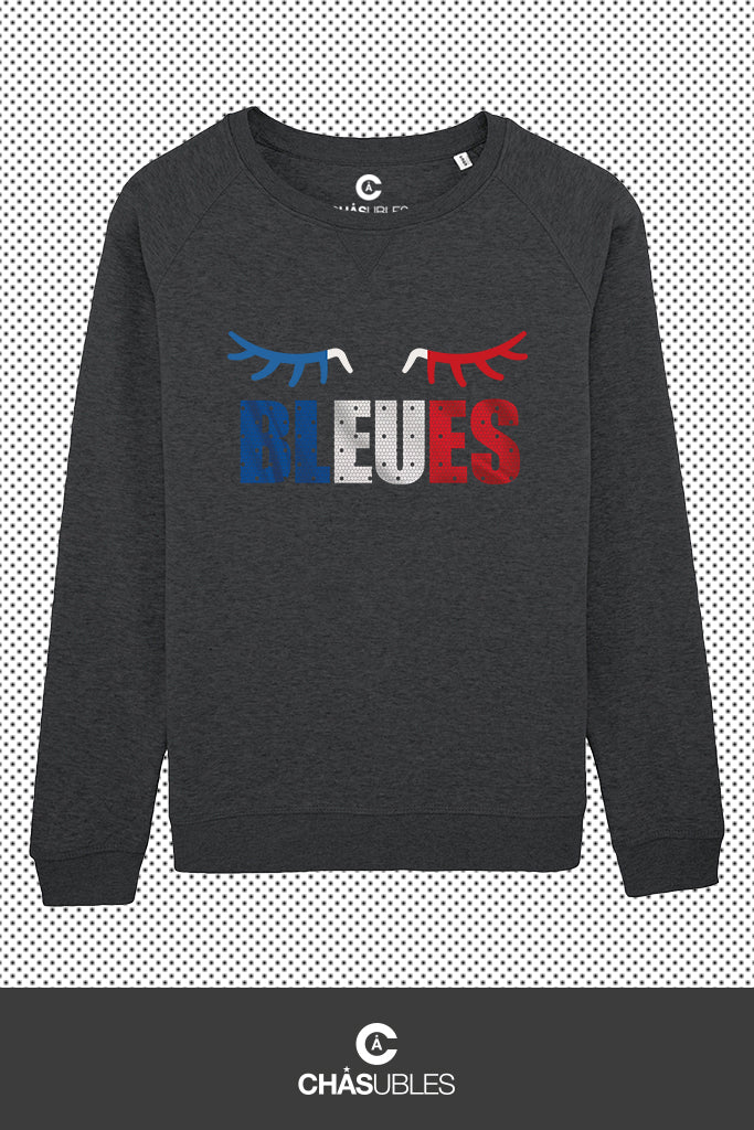 Sweat  femme « Bleues » - CHASUBLES