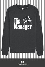 Charger l'image dans la galerie, Sweat  homme « The Manager » (blanc) - CHASUBLES