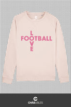 Charger l'image dans la galerie, Sweat  femme « Love Football » - CHASUBLES