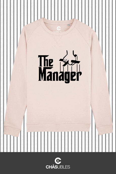 Sweat  femme « The Manager » (noir) - CHASUBLES