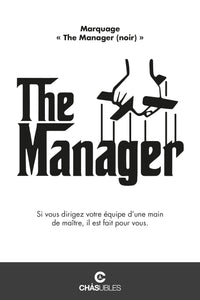 Sweat  homme « The Manager » (noir) - CHASUBLES