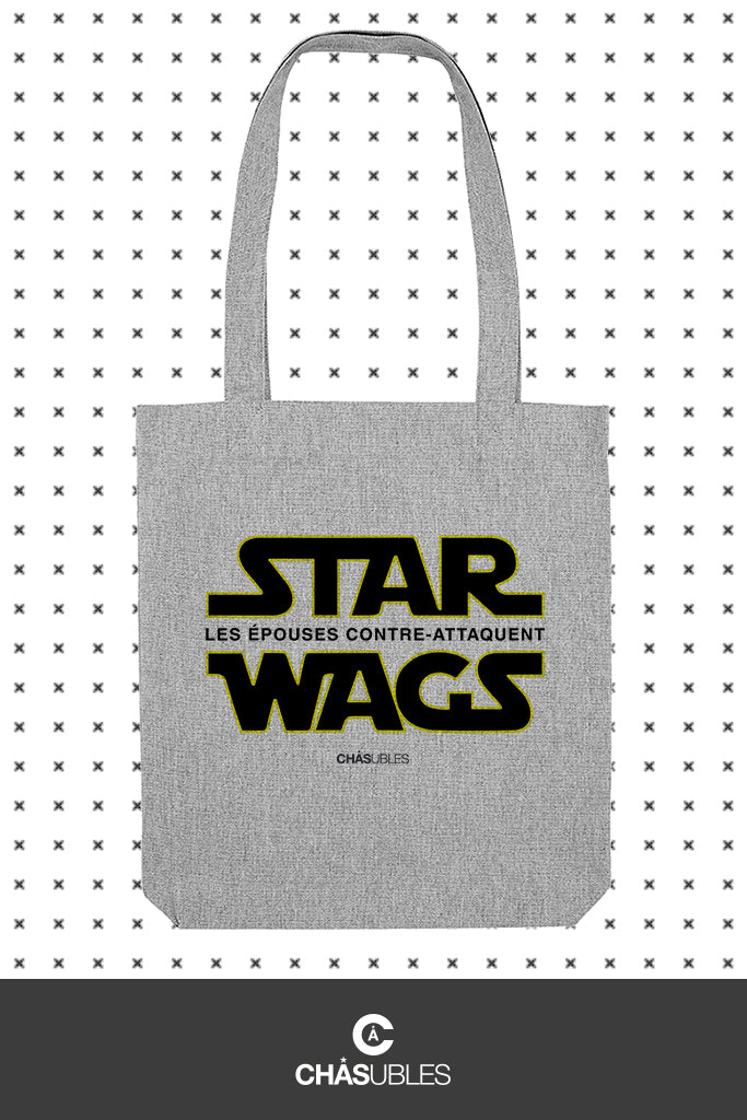 Tote bag  « Star Wags » - CHASUBLES
