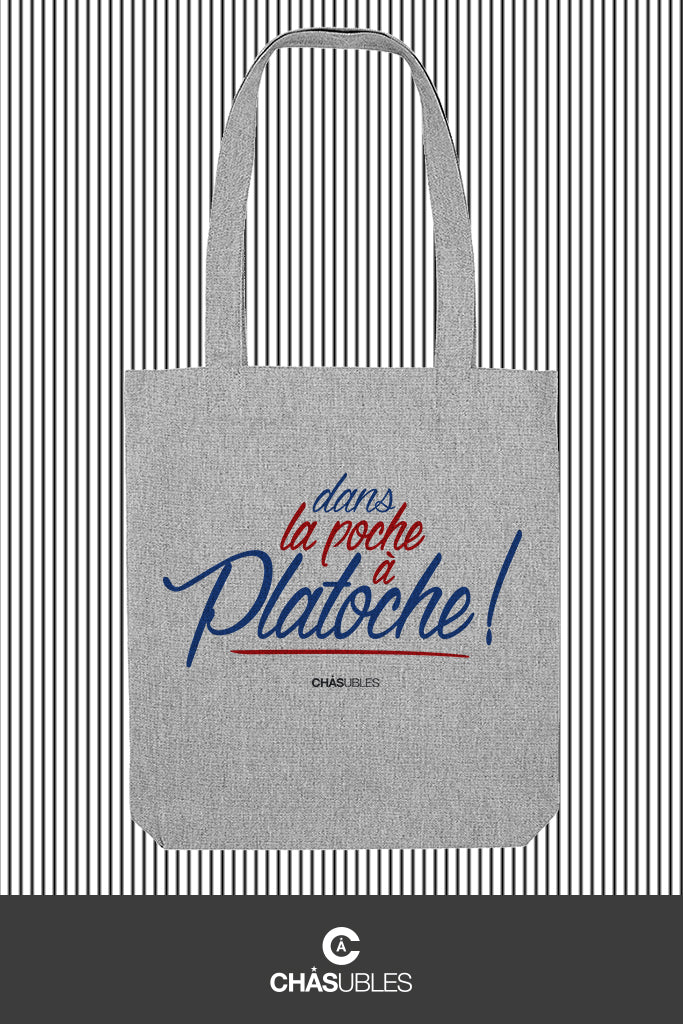Tote bag  « Platoche » - CHASUBLES