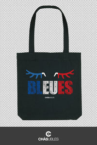 Tote bag  « Bleues » - CHASUBLES