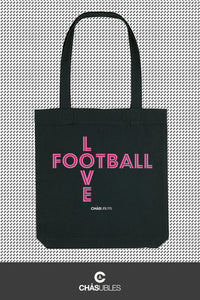 Tote bag  « Love Football » - CHASUBLES