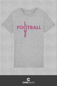 T-Shirt enfant « Love Football » - CHASUBLES