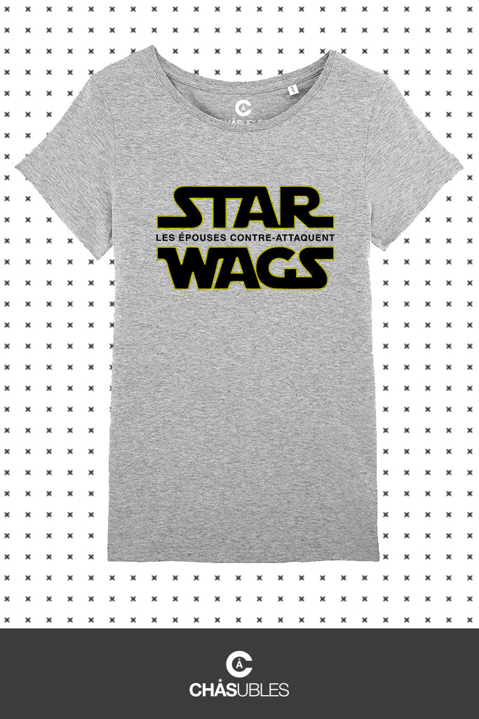 T-Shirt  femme « Star Wags » - CHASUBLES
