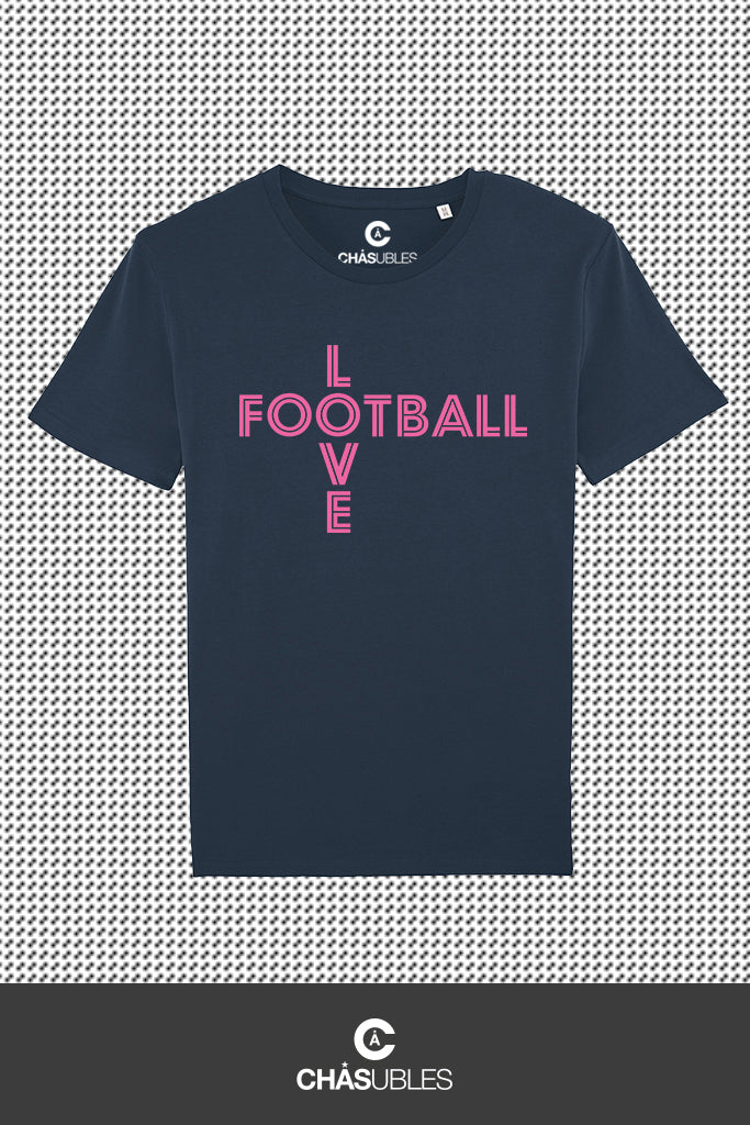 T-Shirt  homme « Love Football » - CHASUBLES