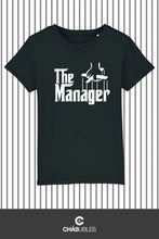 Charger l'image dans la galerie, T-Shirt enfant « The Manager » (blanc) - CHASUBLES