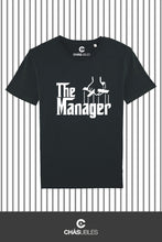 Charger l'image dans la galerie, T-Shirt  homme « The Manager » (blanc) - CHASUBLES