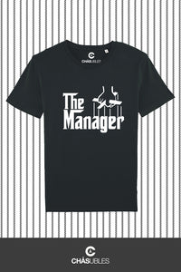 T-Shirt  homme « The Manager » (blanc) - CHASUBLES