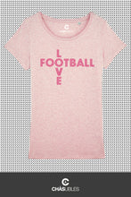 Charger l'image dans la galerie, T-Shirt  femme « Love Football » - CHASUBLES