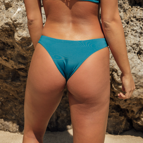 Heather Bottom - Fiji Blue