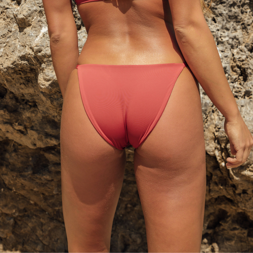Dahlia Bottom - Rust Red